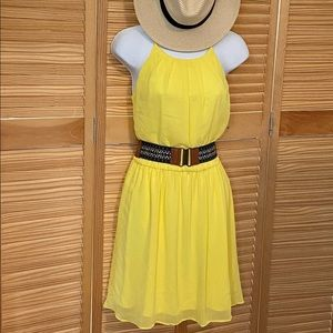 🍋 Lemon Yellow Sundress 🍋